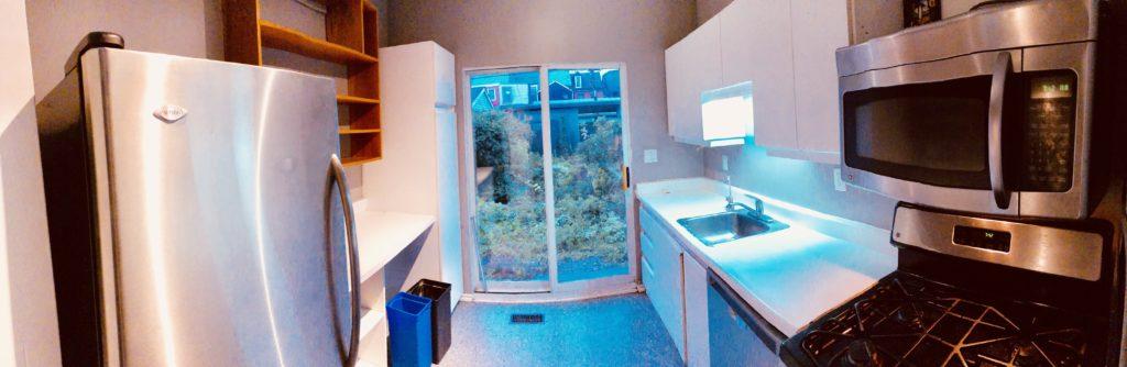 old kitchen addition