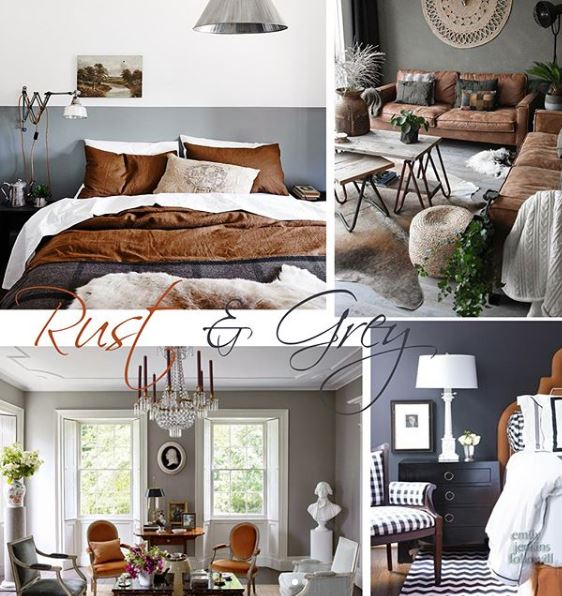tan and gray rooms