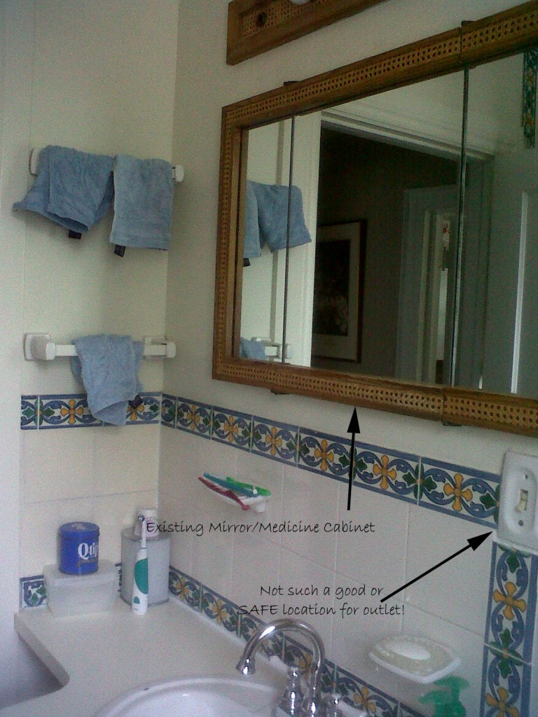 Outlet Mirror