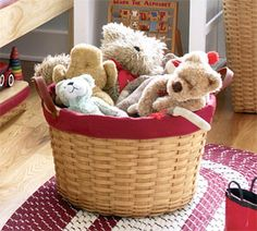 Basket of Buddies! Try filling with a Moose in RCMP Garb!! Or maybe an Olaf?