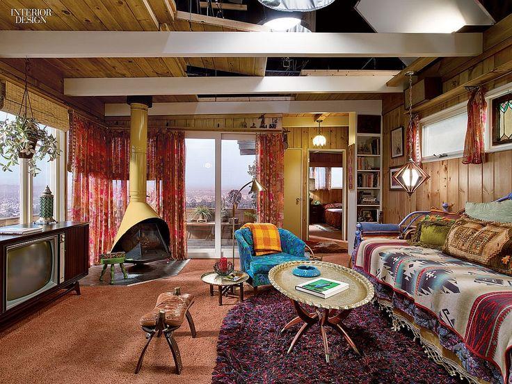 shag, rug, design, 1060s decor