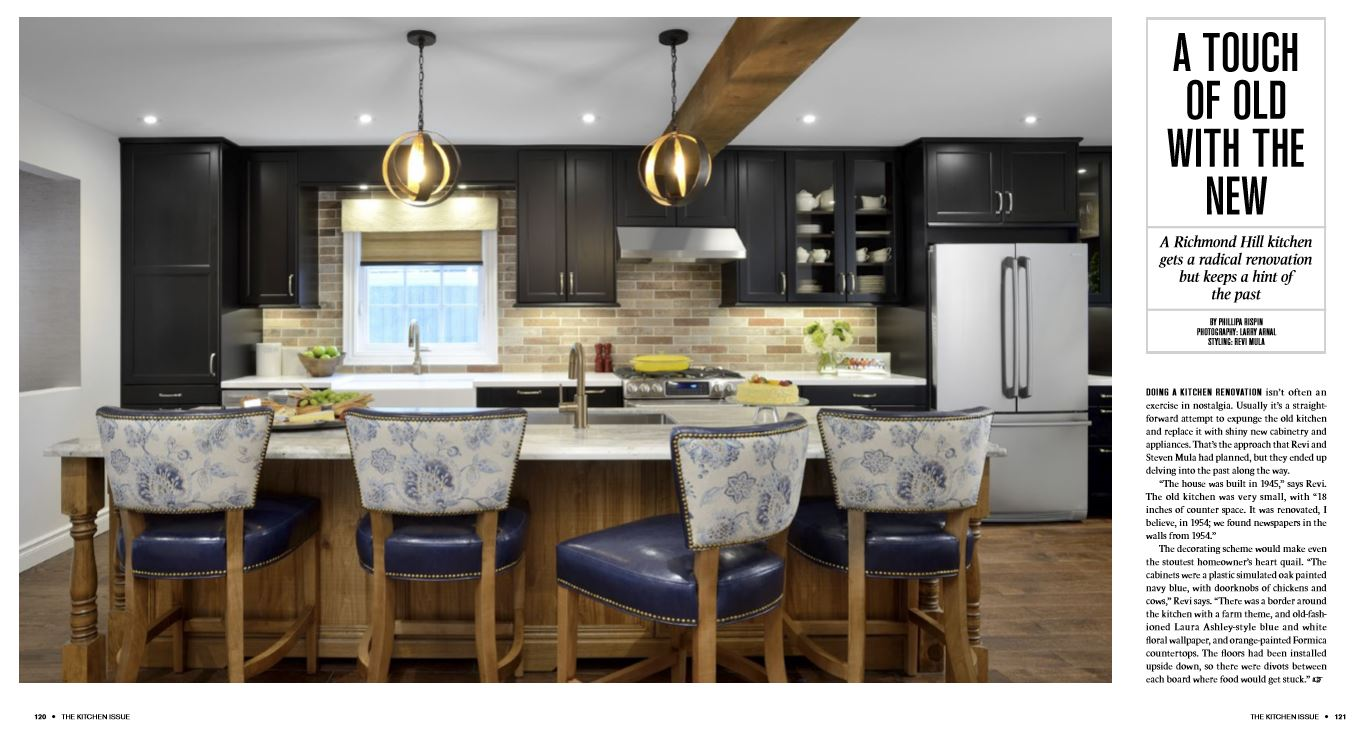 toronto home - magazine - monaco interiors - kitchen renovation